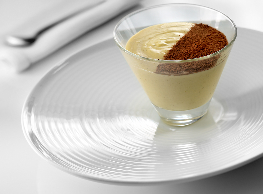 Baileys Mousse by Melvin restaurant at Abama Tenerife