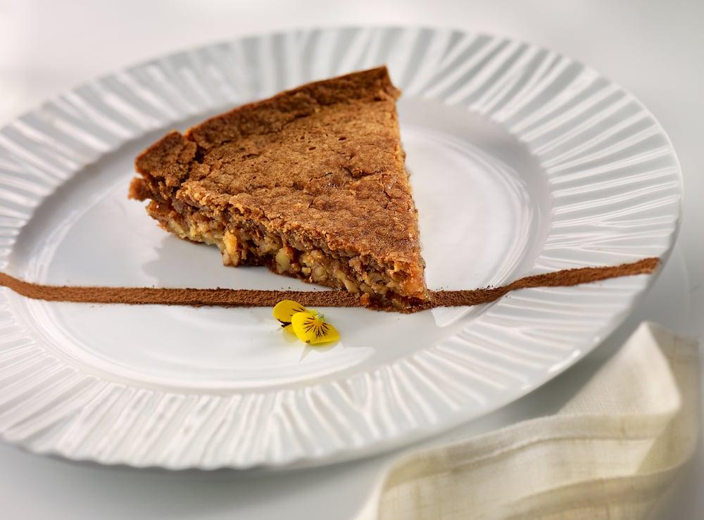 Walnut cake from Melvin restaurant at Abama Tenerife