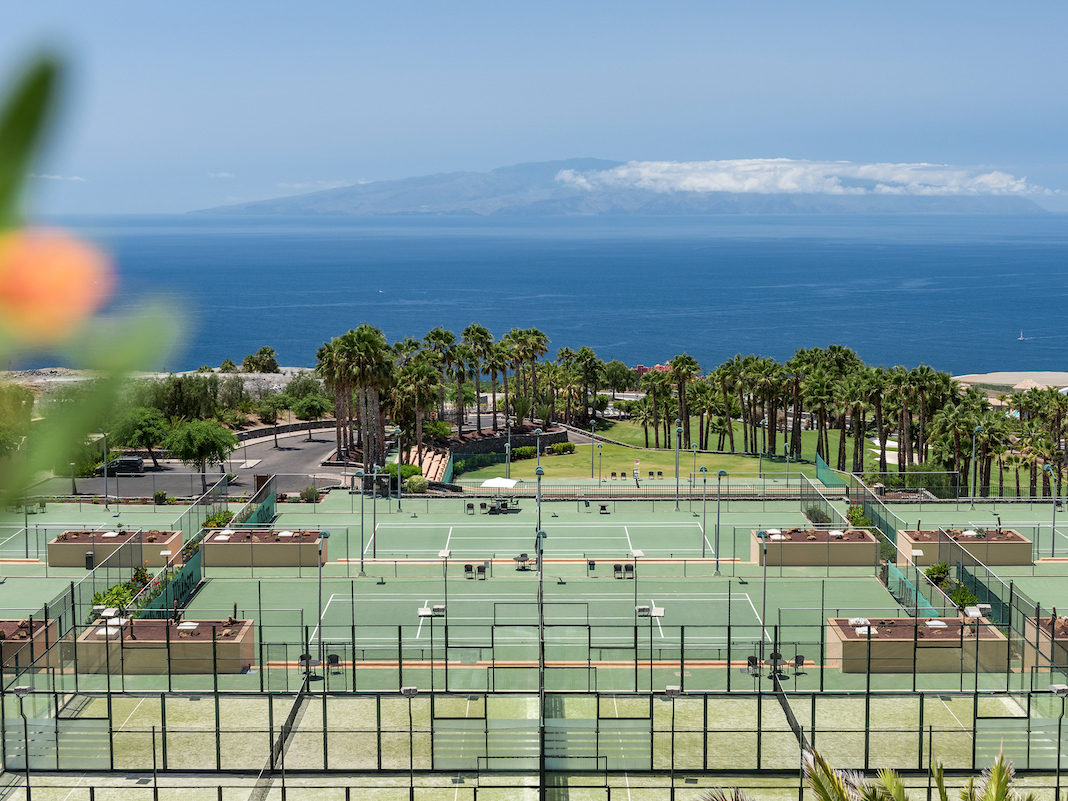 Abama Tennis Academy hosts the WTA and the ATP