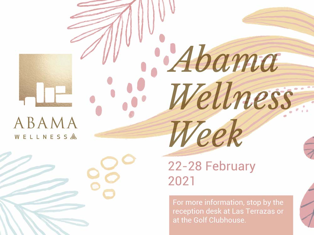 wellness retreat on tenerife - abama wellness week 2021