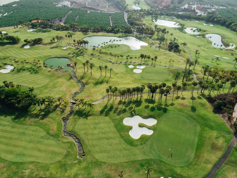 Abama golf resort Tenerife by designer Dave Thomas