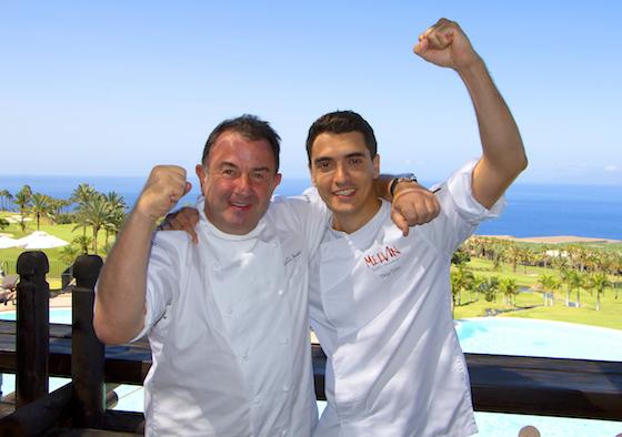 Martín Berasategui y Diego Dato en Abama