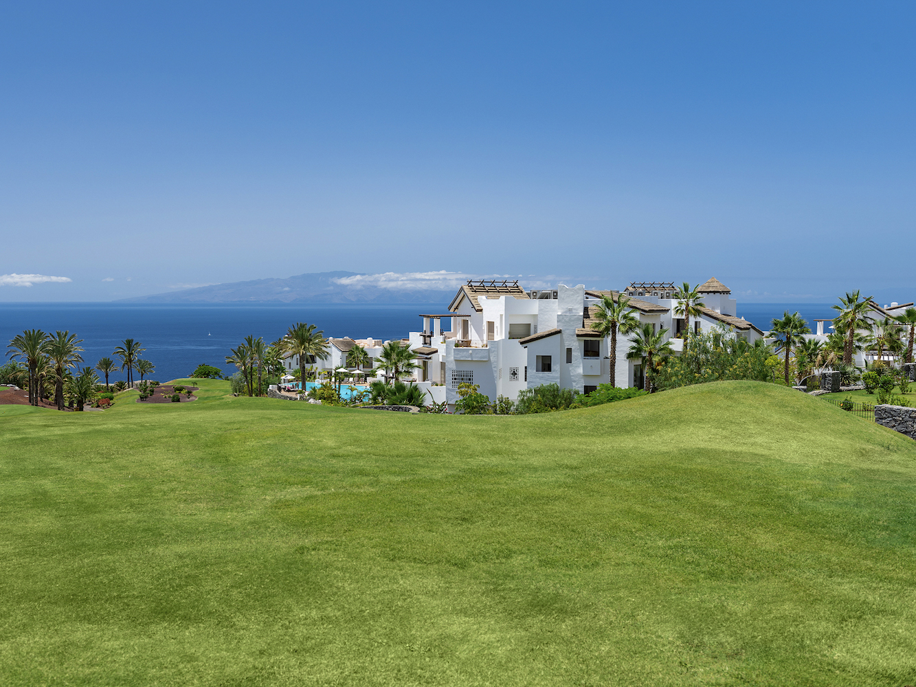 Sea views on Tenerife from Abama Resort