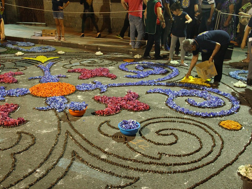Tenerife attractions - the floral tapestries of La Orotava