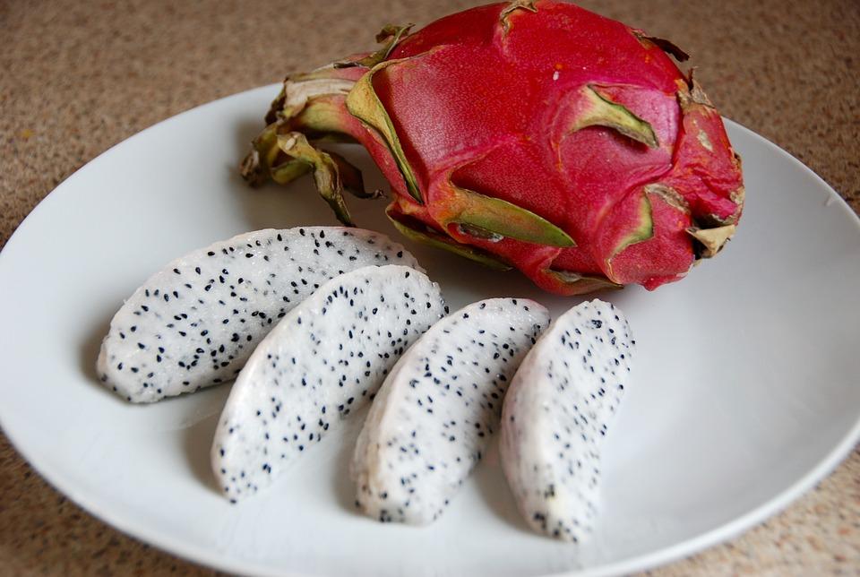 Tenerife fruit - pitahaya or dragon fruit