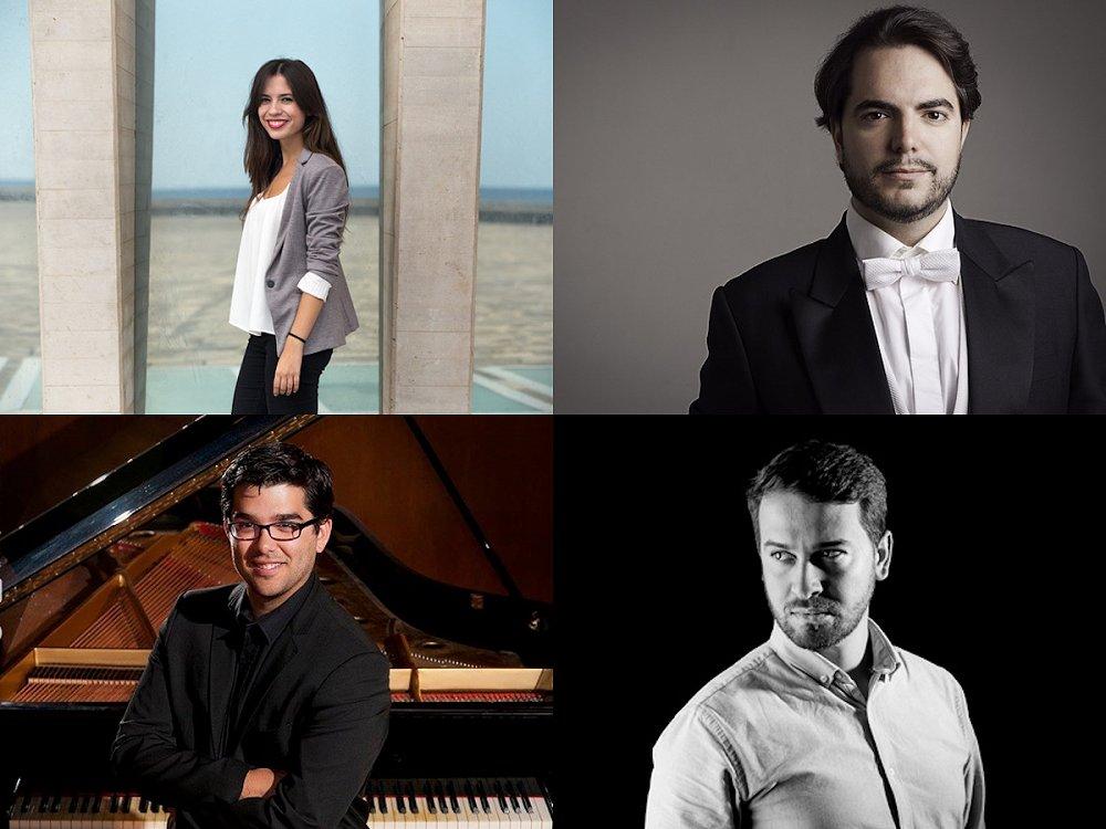 Bienvenida a cuatro estrellas incipientes de la ópera en la Gala Abama