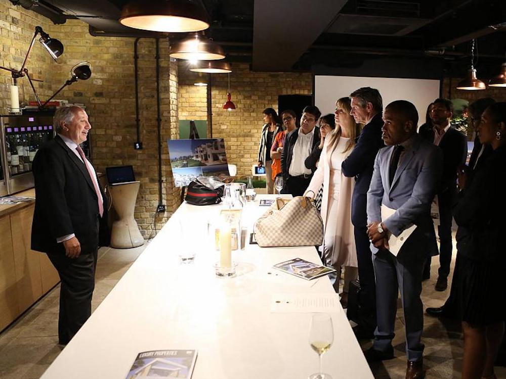 Abama Luxury Resort hosts an Evening at Hedonism in London