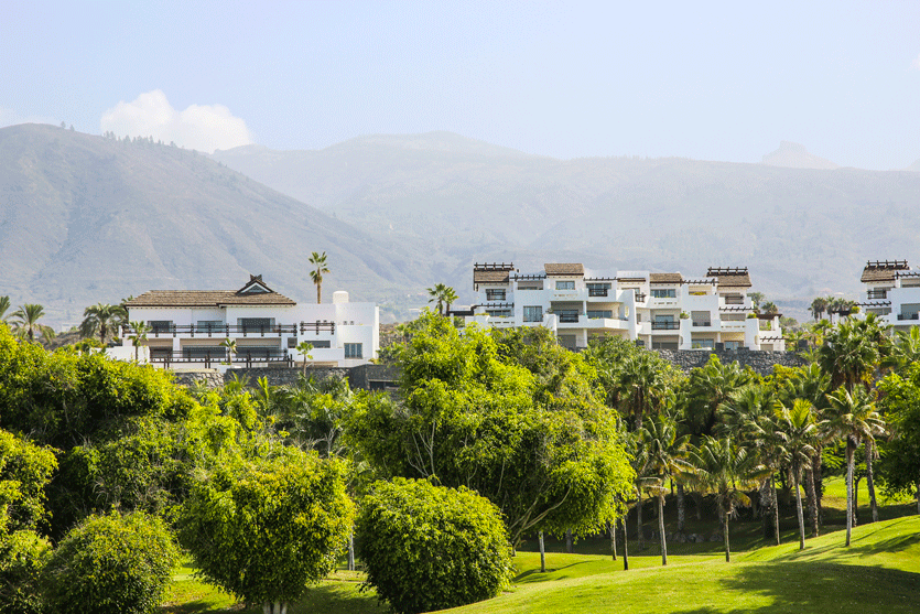 Las Terrazas luxury apartments at Abama