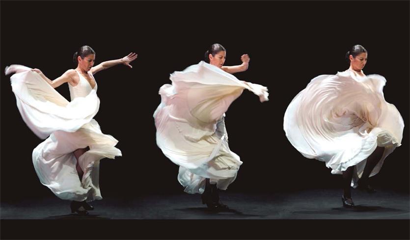 Famed Spanish flamenco dancer Sara Baras at Abama Properties